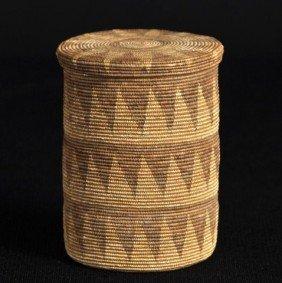 Fine Weave Northwestern Native American Covered