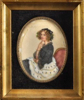 Large Vienna Portrait Miniature