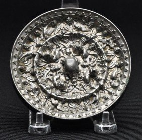 A Bronze Mirror, Cast In Tang Dynasty Style