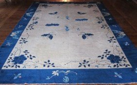 Early 20th Century Chinese Peking Rug