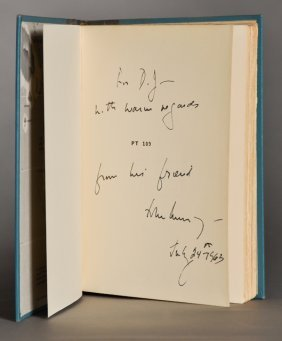 John F. Kennedy, Signed Book, As President