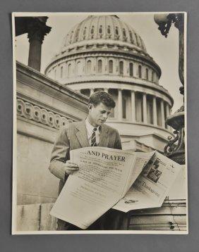 1946-John F. Kennedy, Photographic Portrait