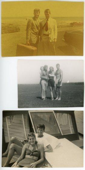 1950-1951- Vintage Snap Shots Of J.F.K.