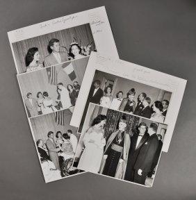 1955-June 14, J.F.K., Photos Receptions