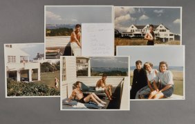 1956-Kennedy Family Photographs At Hyannis