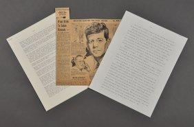 1957-Jan, J.F.K.-Decides To Run For President