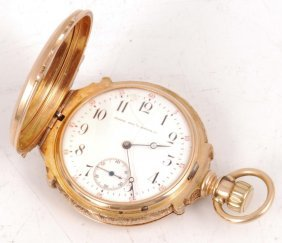 14k Gold Elgin National Watch Co Pocket Watch
