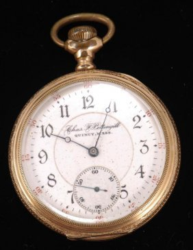 Charles Pettengill Quincy Ma Pocket Watch
