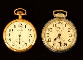 Elgin And Illinois Pocket Watches