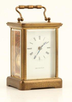 Mattheo Norman Carriage Clock Swiss Made