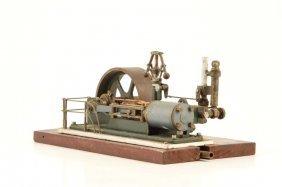 Hand Machined Working Single Cylander Steam Engine
