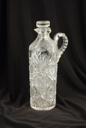 Victorian Cut Glass Cruet