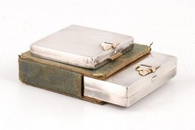 (2) Tiffany & Co Sterling Silver & 14k Gold Cases