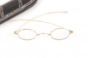 Victorian Gold Spectacles Marked Pebbles