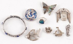 Group Of Sterling Jewelry