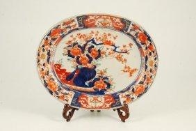 (19th C) Imari Platter