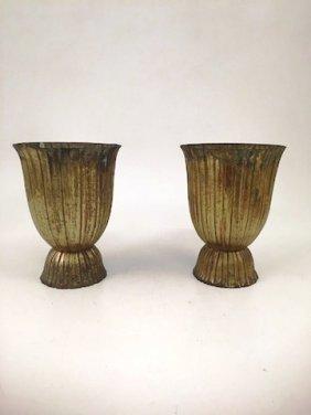 Pair Of Josef Hoffman / Wiener Werkstatte Vases