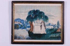 Mourning Piece Of Mrs. Lydia Crane 1822