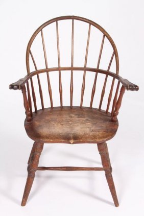 New England Windsor Sack Back Armchair