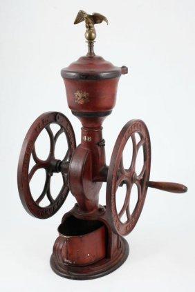 Elgin National Cast Iron Coffee Mill