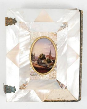 1/2 Plate Mother Of Pearl Daguerreotype Case