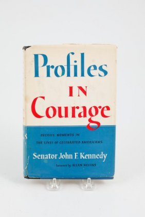 John F. Kennedy Signed Profiles In Courage