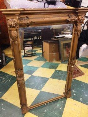 American Classical Empire Hall Mirror