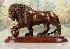 The Medici Lion Bronze After Vacca