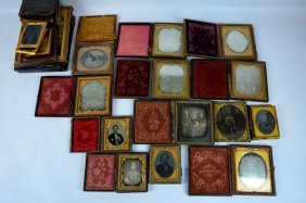 13 - Early American Ambro's, Dag's, Tins & Parts