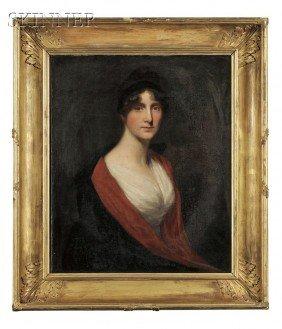 British School, 18th/19th Century Portrait Of A La