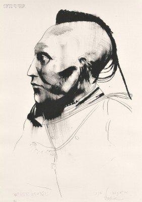 Leonard Baskin (American, 1922-2000) Two Images: Chi
