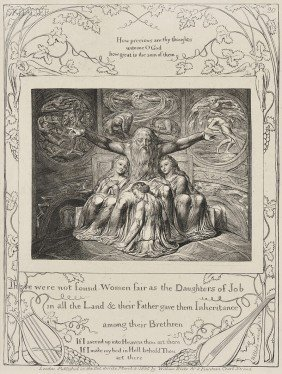 William Blake (British, 1757-1827) There Were Not F
