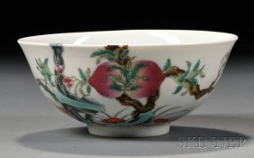 Famille Rose Bowl, China, 19th/20th Century, Shallow Si