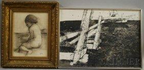 Two Works: Thomas Sgouros (American, B. 1927), Dea