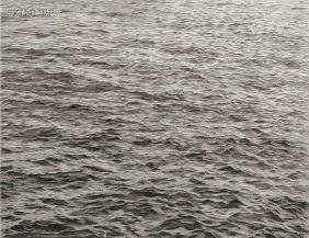 Vija Celmins (Latvian/American, B. 1939) Ocean With