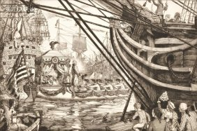 Seven Plates From TWENTY MASTERPIECES IN ETCHING: L