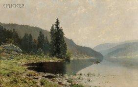 Ludvig Skramstad (Norwegian, 1855-1912) From Nordm