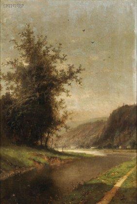 Henri Joseph Pieron (Belgian, 1856-1912) Landscape