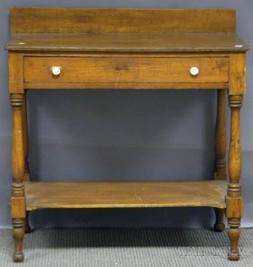 Country Federal Pine Washstand.