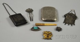 Small Group Of Personal And Accessory Items, A Ster