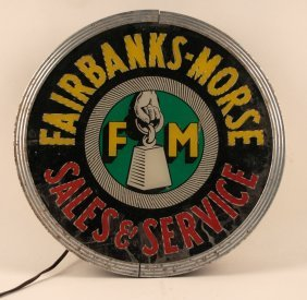 Fairbanks-morse Sales & Service Lighted Spinning