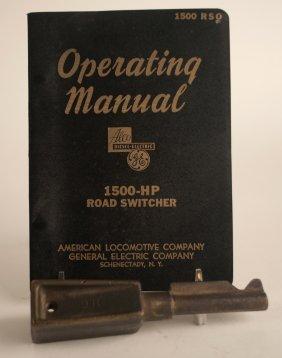 Diesel Locomotive Key & Alco 1500hp Switcher Manual
