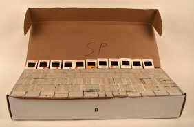 Large Box Of Approx. 4,500+ Slides - 1 Of 3