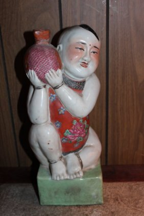 Antique Chinese Porcelain Boy