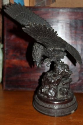 Antique Asian Bronze Statue