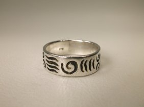 Beautiful Sterling Silver Southwest Ring 9