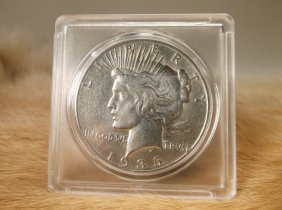 1935 S Us Silver Peace Dollar