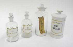 Apothecary Jars & Bottles