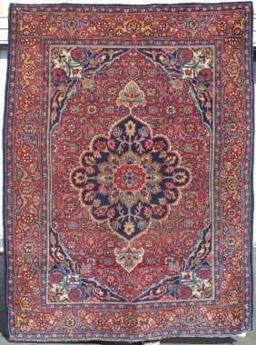Tabriz Medallion Rug Carpet