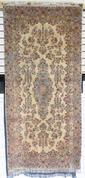 Kirman Corridor Rug Carpet